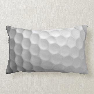 Golfball bildet Beschaffenheits-Muster Grübchen Zierkissen