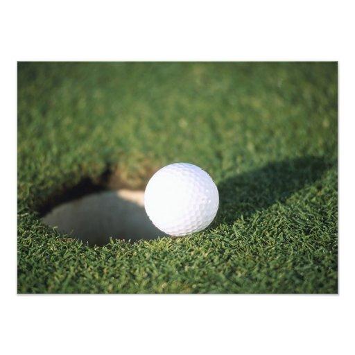 Golfball Fotografischer Druck