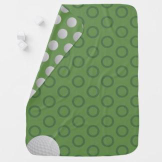 Golfball-Tupfen-Moosgrün-Baby-Decke Baby-Decken