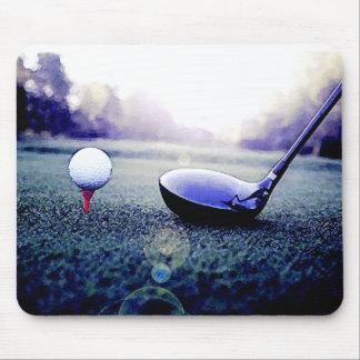 Golfball u Schläger Mousepad