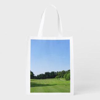 golfing-15 sacs d'épicerie réutilisables