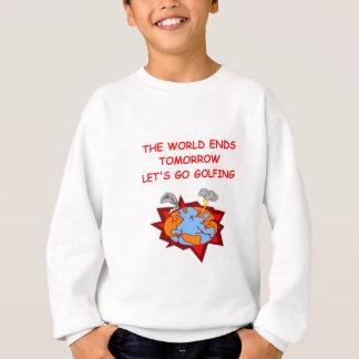 GOLFING.png Sweatshirt