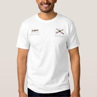 Golfkrieg-Feld-Artillerie-Einheits-gesticktes Besticktes T-Shirt