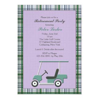Golfmobil-Einladung