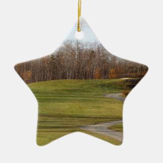 Golfplatz Keramik Ornament