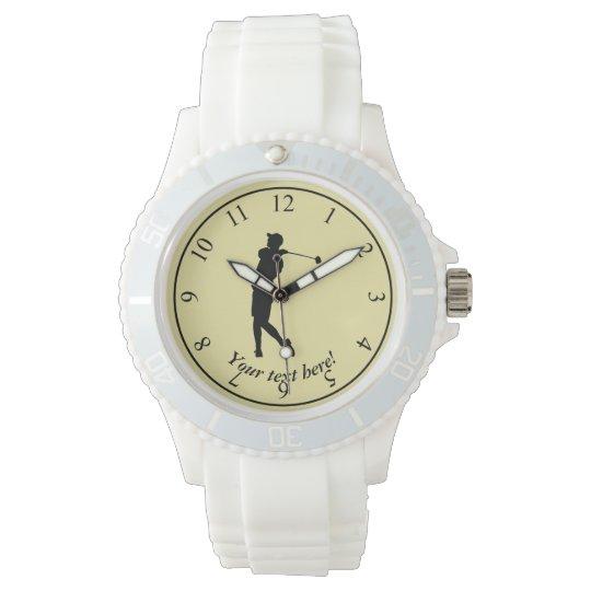 Golfspieler Armbanduhr