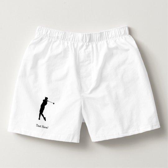 Golfspieler Herren-Boxershorts
