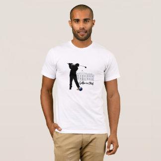 Golfspieler im Leiter T-Shirt