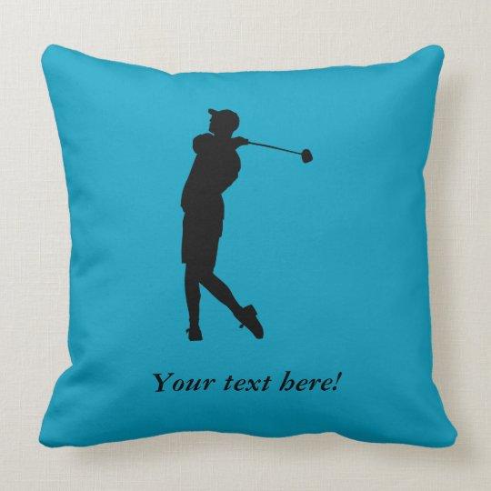 Golfspieler Kissen