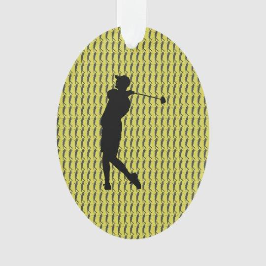 Golfspieler Ornament