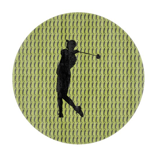 Golfspieler Schneidebrett