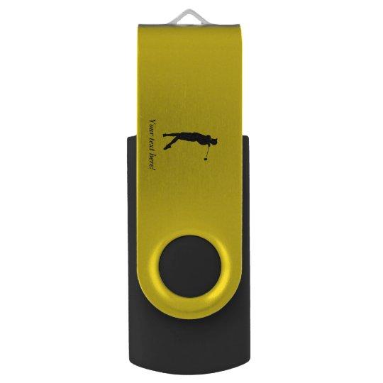 Golfspieler Swivel USB Stick 2.0