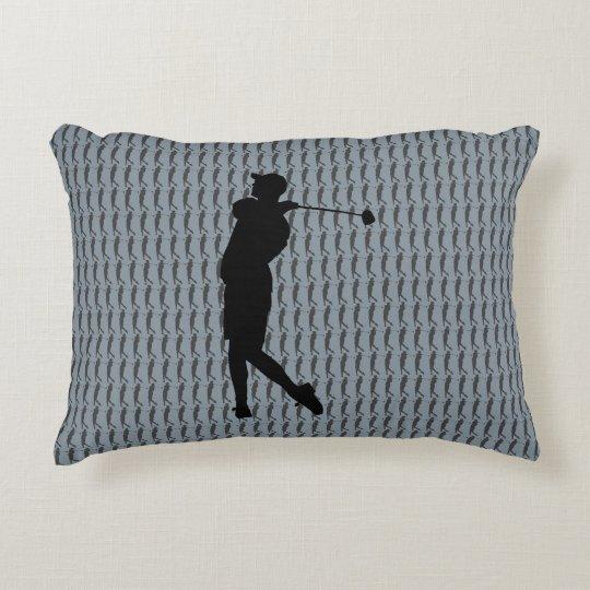 Golfspieler Zierkissen