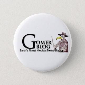 Gomerblog Knopf Runder Button 5,7 Cm