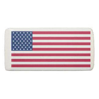 Gomme de cadeau de bureau d'école de drapeau