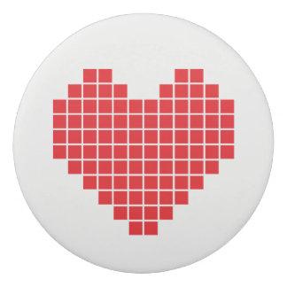 Gomme de coeur de pixel