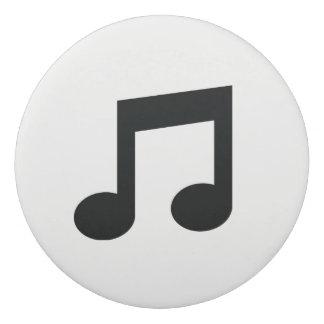 Gomme de note de musique