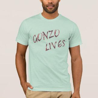Gonzo Leben-T-Shirt Entwurf T-Shirt