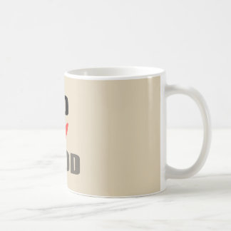 good zerteilt God i Kaffeetasse