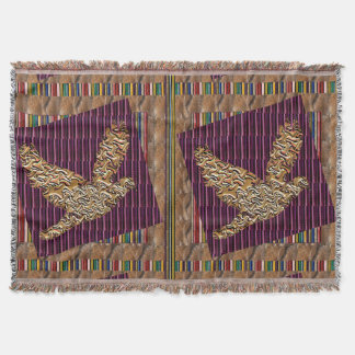 GoodLUCK goldene Engels-Vogel-abstraktes Decke