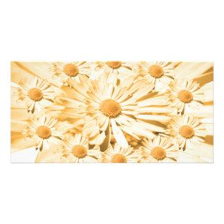 Goodluck Mitteilung mit Blumen Karte