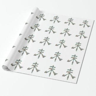 Goodluck Skript: Chinesische orientalische Geschenkpapier
