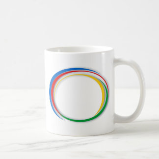 Google-Farben Kaffeetasse