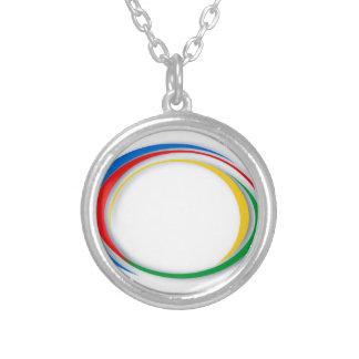 Google-Farben Versilberte Kette
