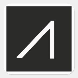 Googleglaslogo-Aufkleber