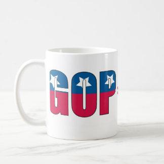 GOP = Habsucht über Prinzip Kaffeetasse