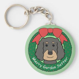 Gordon-Setzer-Weihnachten Schlüsselanhänger