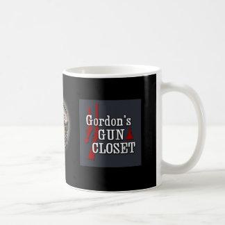 Gordons Gewehr-Wandschrank-Tasse Kaffeetasse