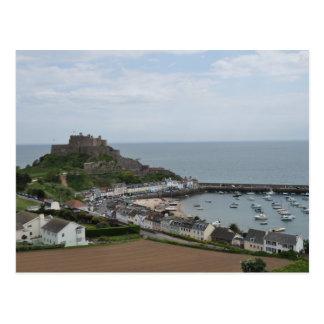 Gorey Hafen und Pier-Postkarte Postkarte