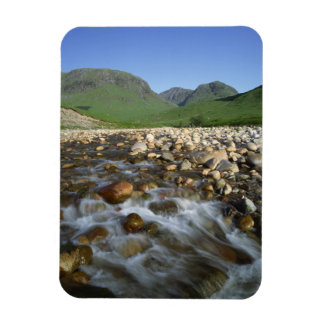 Gorge Etive, montagnes, Ecosse 2 Magnet En Rectangle