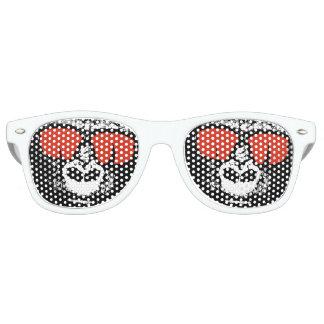 Gorilla mit Gläsern Retro Sonnenbrillen
