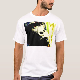 Gorilla-Pop-Kunst T-Shirt