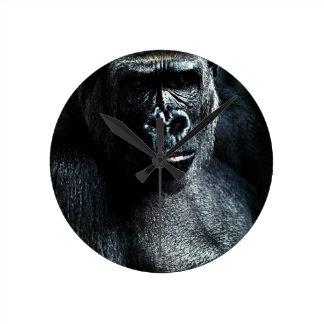 Gorilla Runde Wanduhr