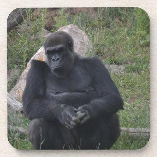 Gorillasitzen Drink Untersetzer