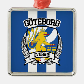 Göteborg Silbernes Ornament