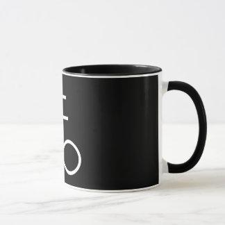Goth Mode - geheimnisvolle Entwürfe - Schwefel Tasse