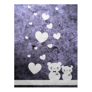 Gotische Bärn-Liebe - Postkarte