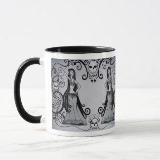 Gotische Bauchtänzerin-Tasse Tasse