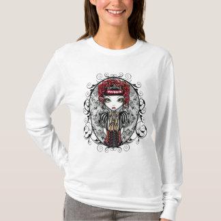 Gotische viktorianische Feen-Spitze Annie T-Shirt