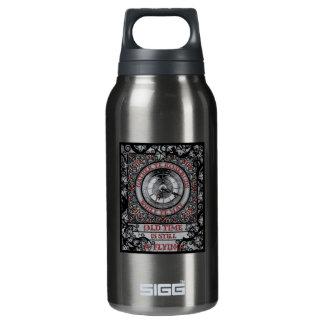 Gotischer keltischer Impermanence Isolierte Flasche