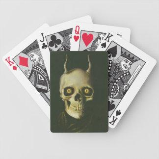 Gotischer Teufel-Schädel-Spielkarten Bicycle Spielkarten
