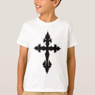 gotisches Kreuz T-Shirt