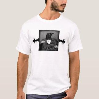 Gotisches viktorianisches T-Shirt des Krähe-Man