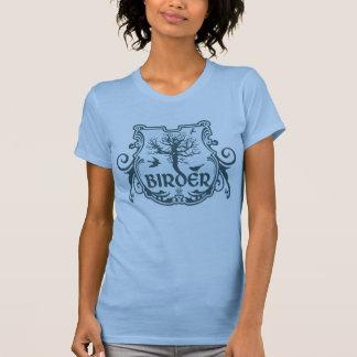 Gotisches Vogelbeobachter-Schild T-Shirt