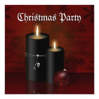 Gotisches Weihnachten - Party Einladung
