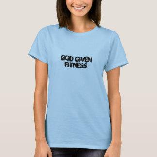 Gott gegebene Fitness T-Shirt
